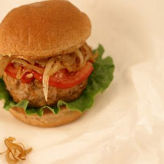 Southeast Asian Style Turkey Burgers