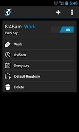 CircleAlarm (Holo Alarm Clock) Screenshot 3