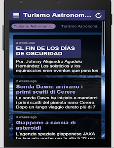 Turismo Astronomico screenshot 1