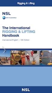 Nsl rigging and lifting handbook