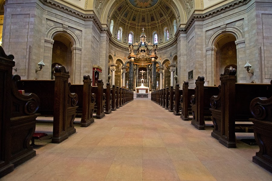 Cathedral of St. Paul  by Erin Dybedahl - Buildings & Architecture Places of Worship ( altar, church, aisle, pew, cathedral, worship, st. paul,  )