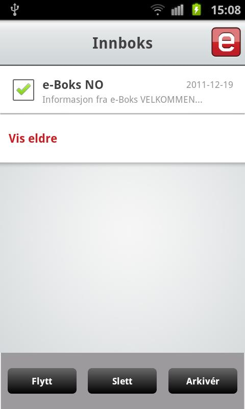 e-Boks.no- screenshot