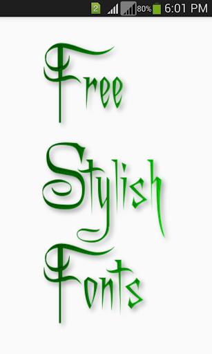 Stylish Fonts 1.14 screenshots 1