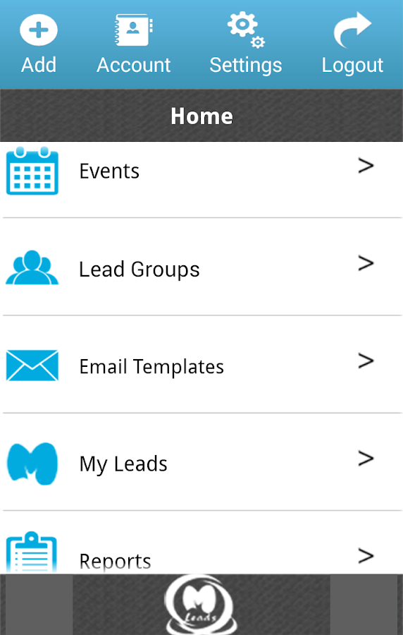 MLeads CRM- screenshot