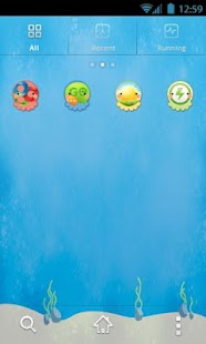 Octopus GO Launcher Theme - screenshot thumbnail