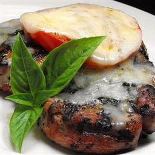 Amazing 'Pizza' Pork Chops