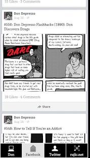 Don Depresso Comics - screenshot thumbnail