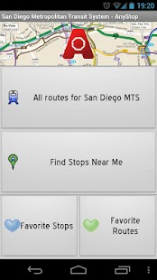 San Diego MTS: AnyStop - screenshot thumbnail