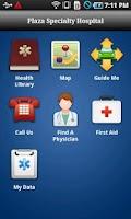 Screenshot of Plaza Specialty Hospital