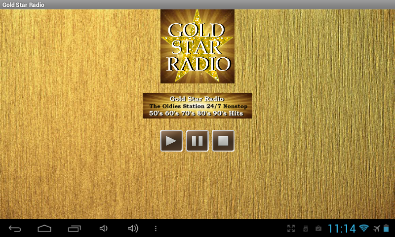 Gold Star Radio- screenshot