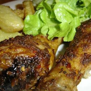 Portuguese Style Chicken Drumsticks.