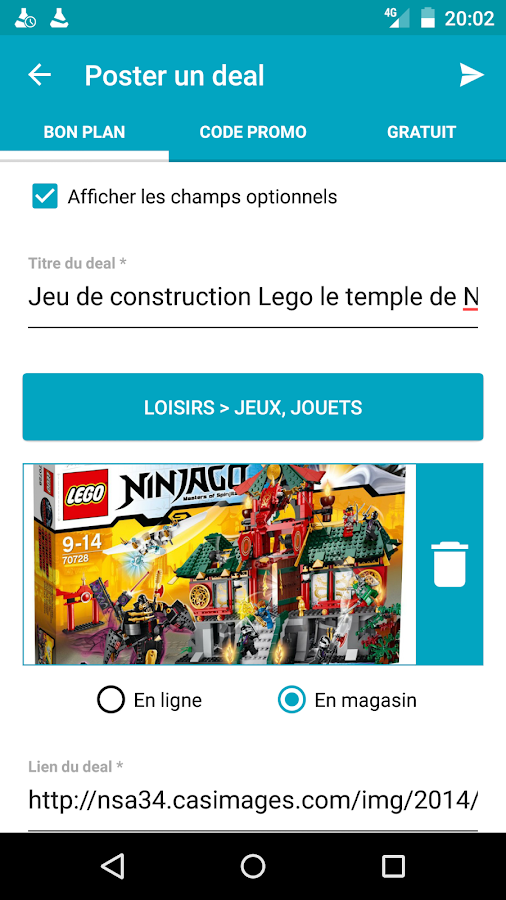 7 chevaliers android coupons gratuits