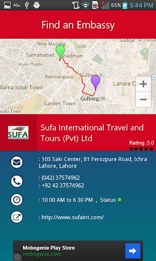 【免費通訊App】Find An Embassy-APP點子