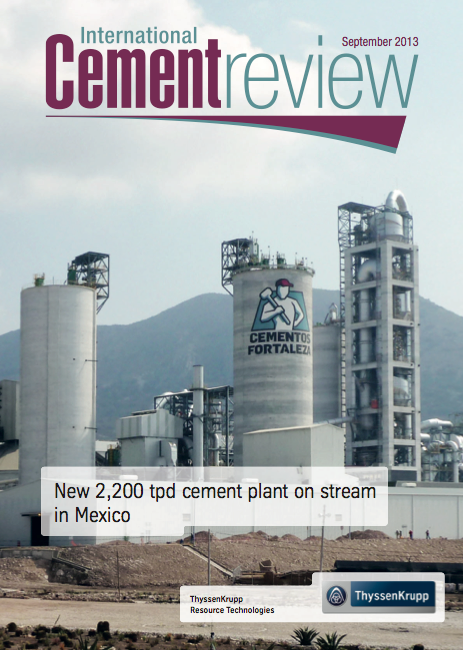 International Cement Review- screenshot