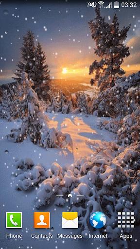 雪ライブ壁紙