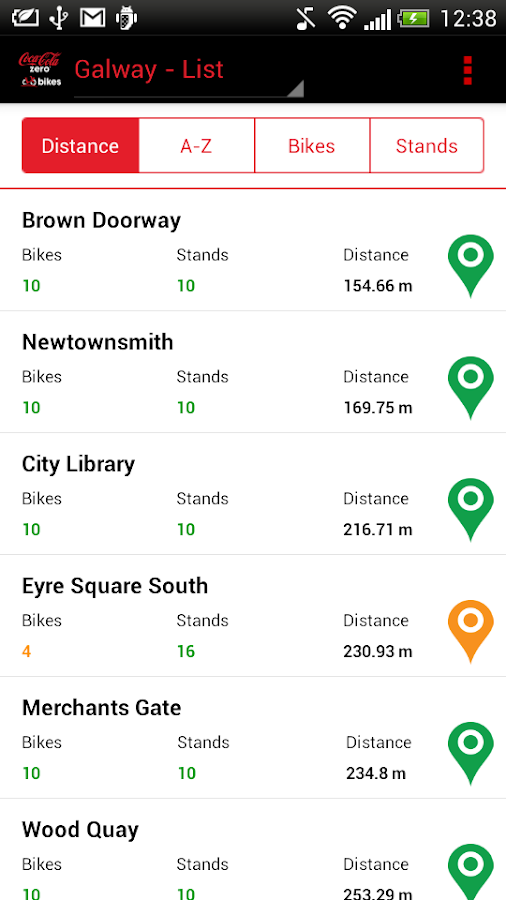 bikeshare.ie- screenshot