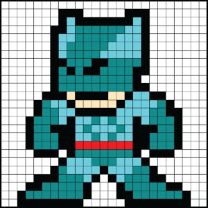 create 8 bit pixel art