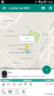 Locate via SMS- screenshot thumbnail