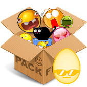 Emoticons pack, Egg clean