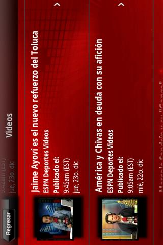 ESPN Deportes Radio - screenshot