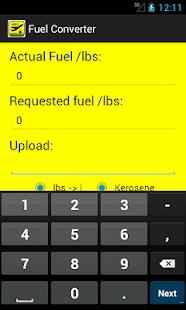 Fuel Converter screenshot