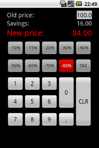 Discount Calculator - Simple screenshot 3