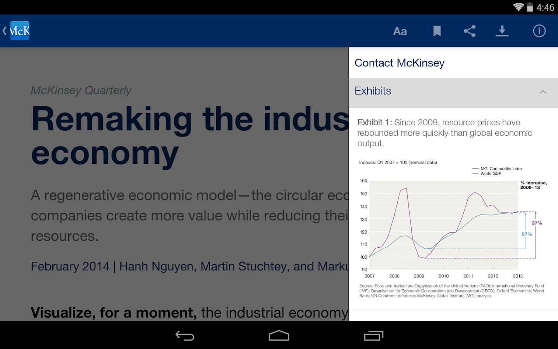 McKinsey Insights - screenshot