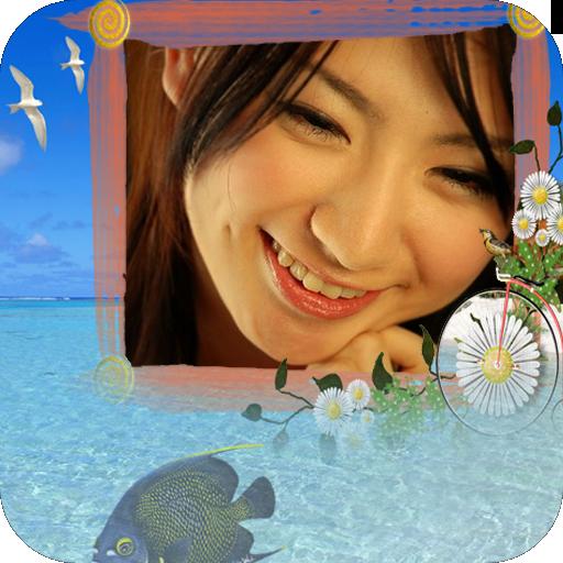 迷人的海灘相框 攝影 App LOGO-APP試玩
