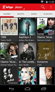 Infogo Music - screenshot thumbnail