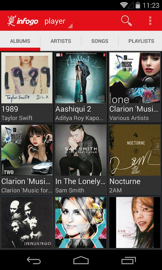 Infogo Music - screenshot