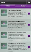 Screenshot of WTA