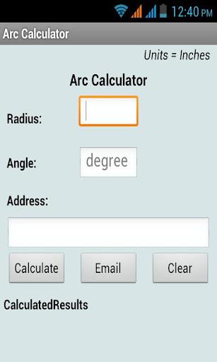 【免費生產應用App】Arc Calculator-APP點子