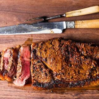 Steak for a Brooklyn Backyard Barbeque.