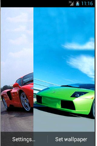 ... Live Wallpapers Crazy Cars ...