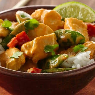 Thai Red Curry Coconut Chicken.