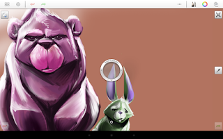 Screenshot of SketchBook Express