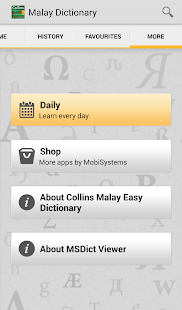 Collins Malay Dictionary TR - screenshot thumbnail