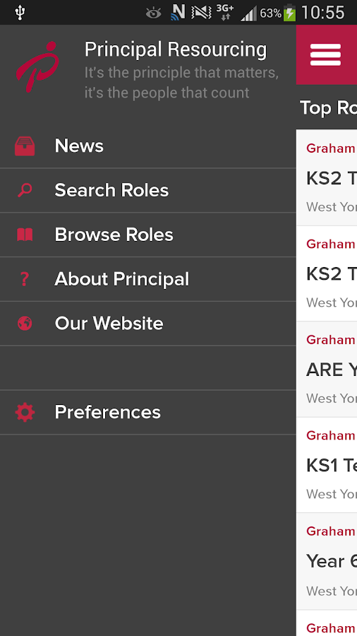 Education Jobs - Principal- screenshot