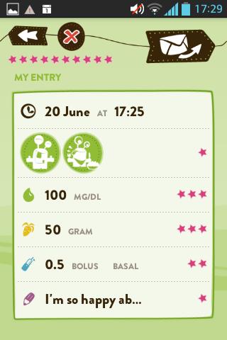mySugr Junior- screenshot