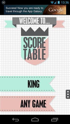 ScoreTable