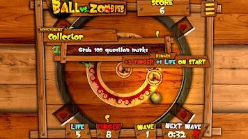 Screenshot of Ball vs. Zombies