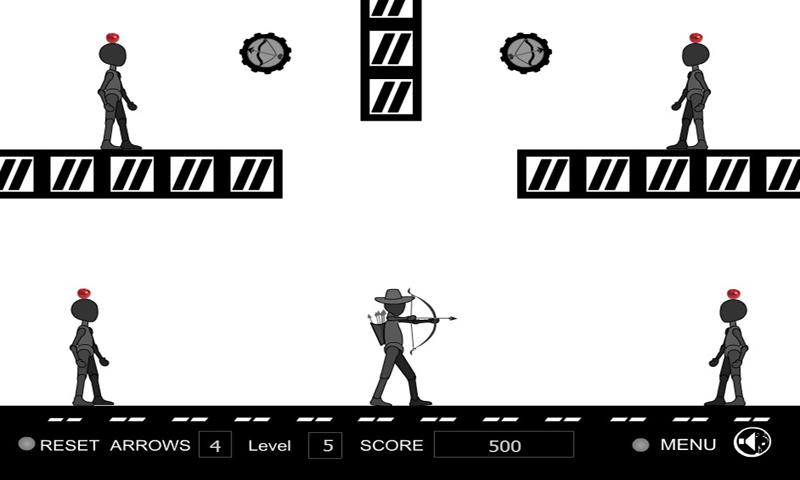 StickMan Apple Shooter - screenshot