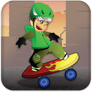 Skateboard Champion Icon