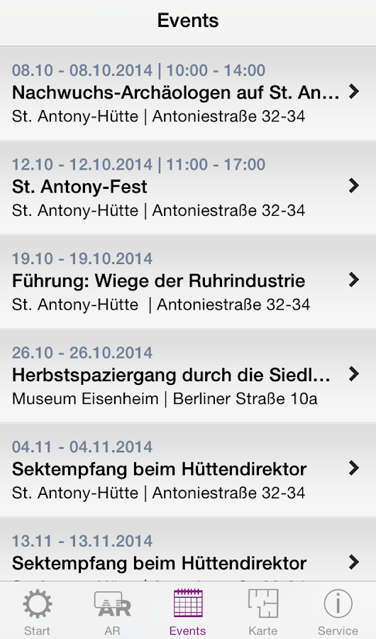 St. Antony-Hütte – Screenshot