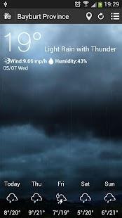 【免費天氣App】天氣預報-APP點子