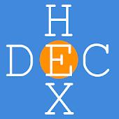 Hex, Decimal, Binary Converter