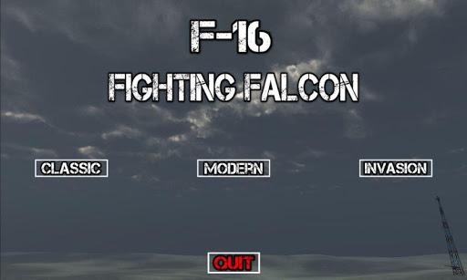 F16 Fighting Falcon Flight Sim