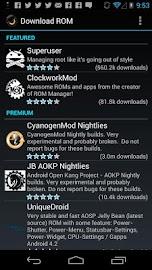 ROM Manager (Premium) Screenshot 2