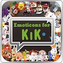 Emoticons for Kik messenger