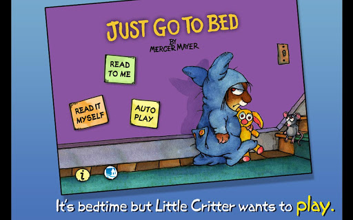 Just Go to Bed -Little Critter